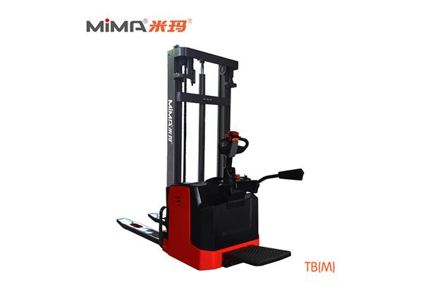 必威体育最新版电动托盘堆垛车TBM 提升和堆垛