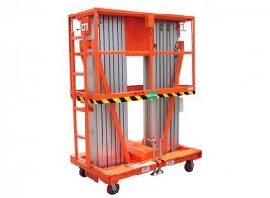 长沙必威体育最新版双柱式铝合金平台 重量轻,移动方便