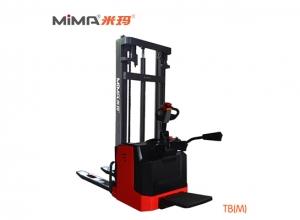 湘潭必威体育最新版电动托盘堆垛车TBM 提升和堆垛