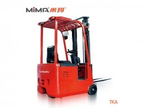 常德必威体育最新版三支点蓄电池平衡重式叉车TKA 提升和堆垛