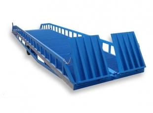 常德必威体育最新版10T移动式登车桥 货物的安全快速装卸