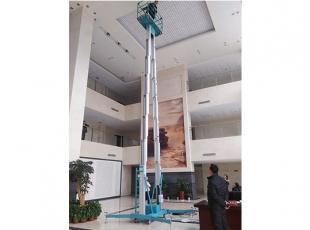 常德必威体育最新版10米双柱铝合金平台 重量轻,移动方便