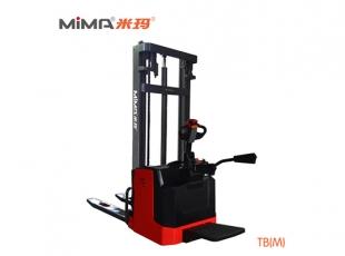 常德必威体育最新版电动托盘堆垛车TBM 提升和堆垛